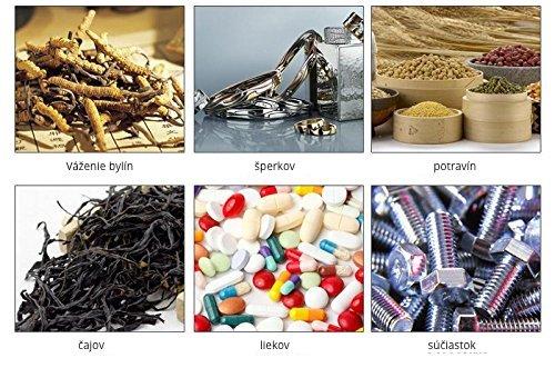 Obr.: Váha vhodná na váženie čaju, bylín, liekov, súčiastok, šperkov...