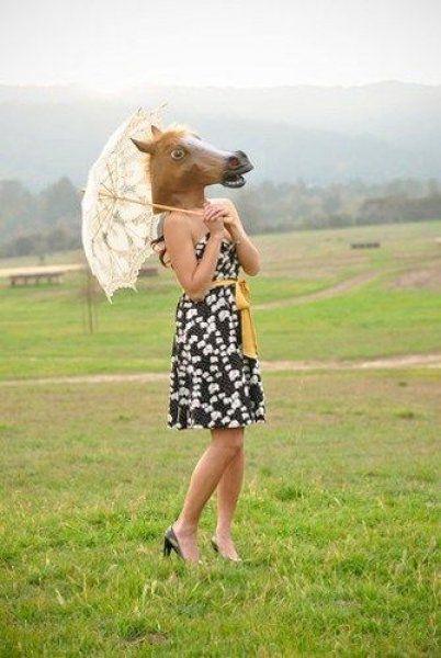 maska koňa review